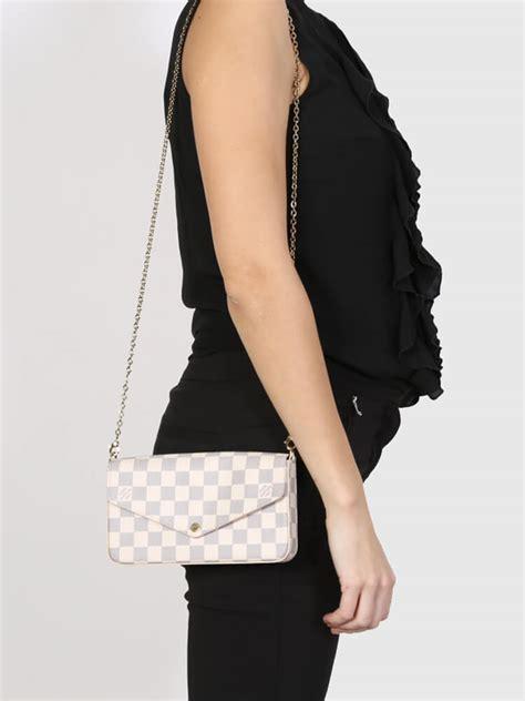 louis vuitton pochette felicie damier azur canvas luxury bags