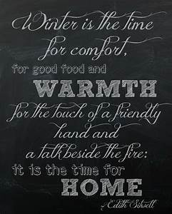 Quotes About Cold Winter. QuotesGram