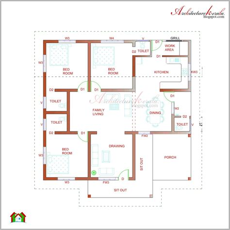 kerala house plan    elevations contemporary