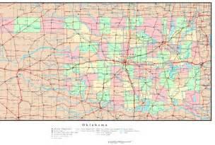 Oklahoma Arkansas Map