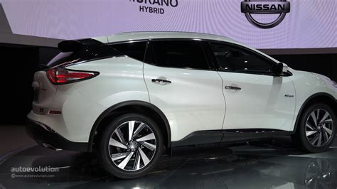 World Premiere For 2018 Nissan Murano Hybrid At Auto