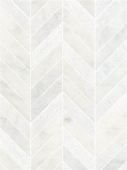 Backsplash Chevron Tile Marble Modern Mosaic Tiles