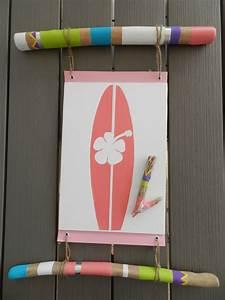 Planche De Bois Flotté : tableau planche de surf et bois flott cultura ~ Melissatoandfro.com Idées de Décoration