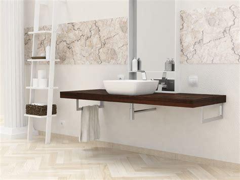 mensole per bagno in legno mensole per bagno mensole lavabo in legno massello su