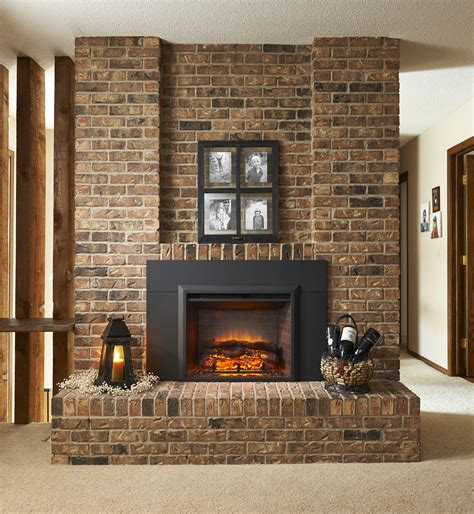product greatco gallery electric fireplace insert