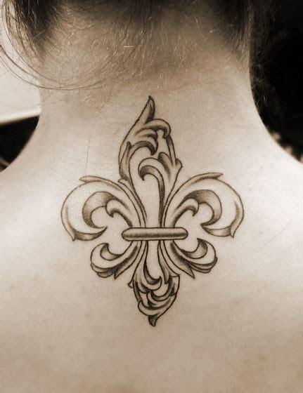 Fleur De Lis Background Tattoo