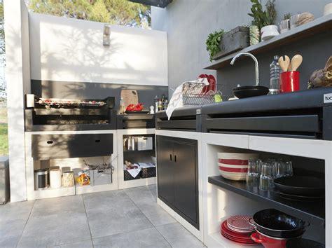 cuisine en dur barbecues transats pour profiter de jardin leroy merlin