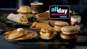 McDonald's All Day Breakfast Menu TV Spot, 'Celebra el ...
