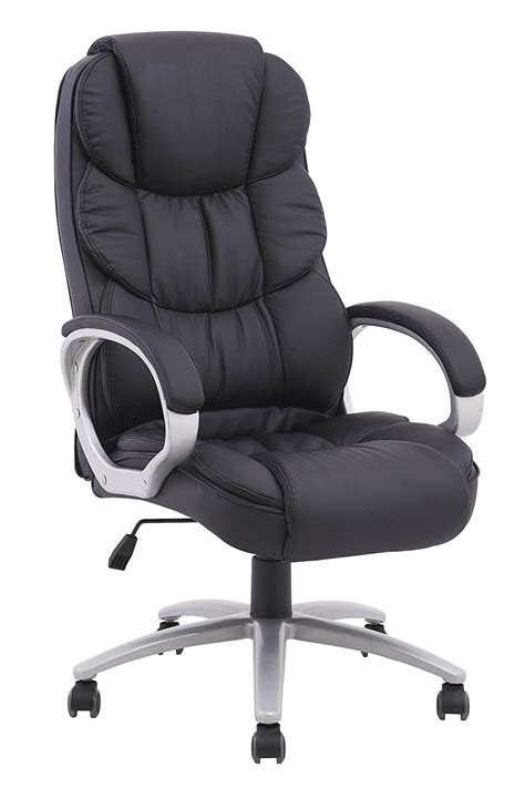 review high back executive pu leather ergonomic worth the
