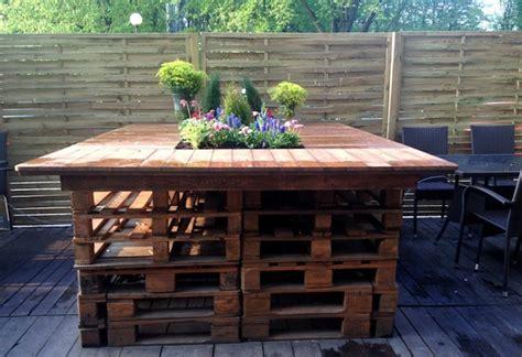 meubles de patio comment bien 52 idées pour fabriquer votre meuble de jardin en palette