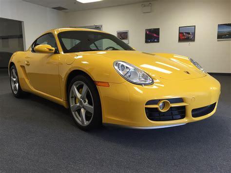 F/s Porsche Cayman S Yellow