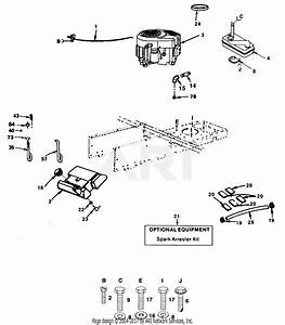 Poulan Pp1442 Tractor Parts Diagram For Power And