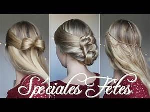 Coiffure Pour Noel : 3 coiffures faciles pour no l youtube ~ Nature-et-papiers.com Idées de Décoration