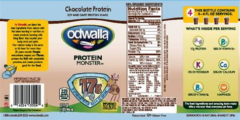 Allergic Reactions To Odwalla Chocolate Protein Drink ...