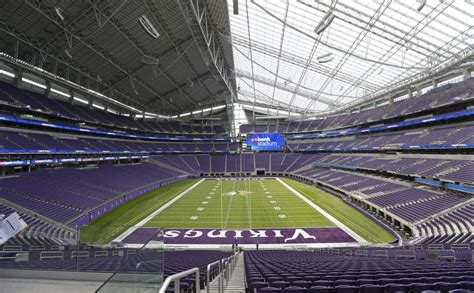 bank stadium sold   vikings  season