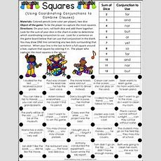 Conjunctions Games {coordinating Conjunctions, Subordinating Conjunctions}