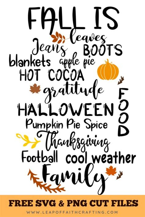 470,000+ vectors, stock photos & psd files. Fall Cricut Projects with Free SVG Cut Files! - Leap of ...