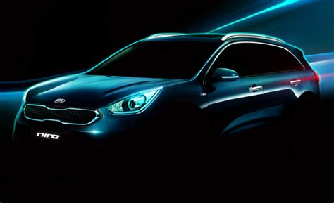 Kia Niro Hybrid To Debut In Chicago