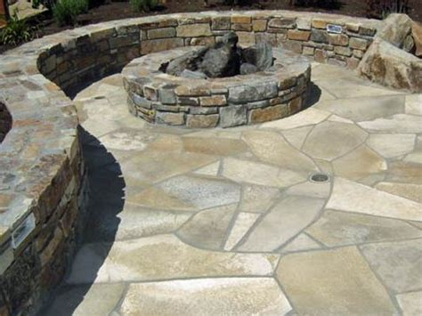 flagstone pit patio 17 best images about fire pits on pinterest brick bbq flag stone and backyards