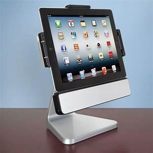Ipad 4 Dockingstation : the rotating ipad speaker dock hammacher schlemmer ~ Bigdaddyawards.com Haus und Dekorationen