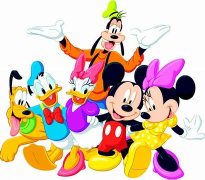 Clipart Disney Library Clip Characters Cartoon Friends