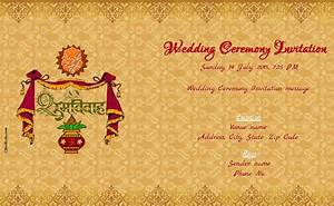 Free online wedding invitation for Online indian e wedding invitations