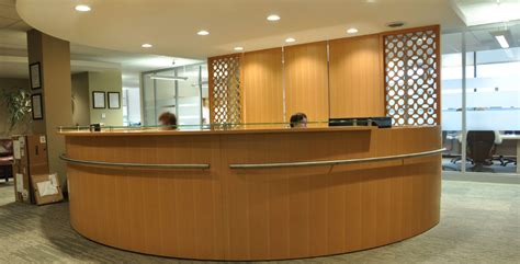 front desk in calgary fusion woodwork commercial projects exles of our