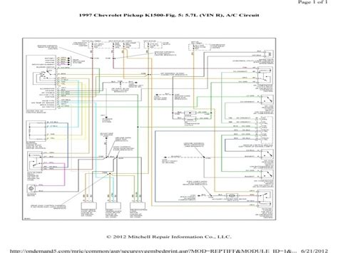 2003 Chevy 2500 Wiring Diagram by 2003 Chevy Express 2500 Pressor Wiring Diagram Wiring Forums