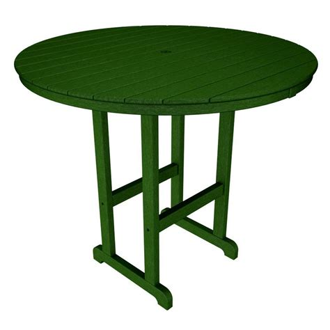 patio table size gronomics 6 person picnic patio bar top table ptbt 39 59 the home depot