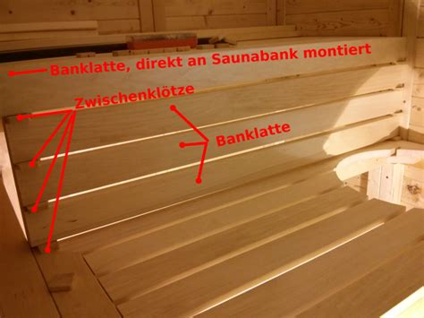 Saunabank Archive - Bau-was