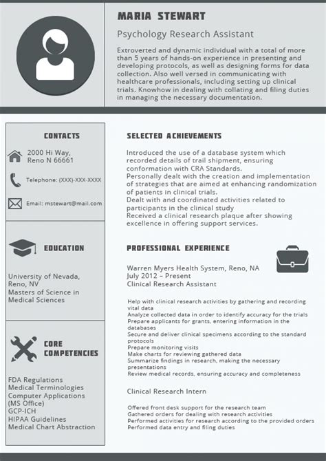 resume format for 1 year experienced it professionals
