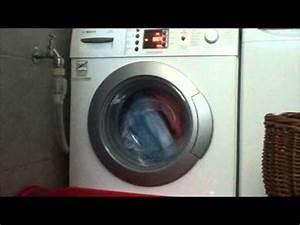 Waschmaschine Bosch Maxx : bosch maxx 7 exclusiv varioperfect wae28496 waschmaschine youtube ~ Frokenaadalensverden.com Haus und Dekorationen