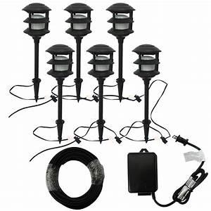 Portfolio bluetooth audio path light black low voltage