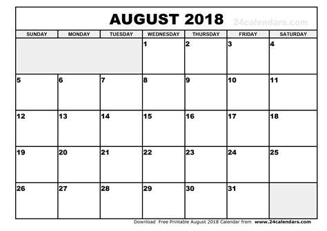 august calendar template august 2018 calendar printable vitafitguide