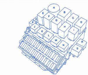 Volvo 850 1997 Main Fuse Box  Block Circuit Breaker Diagram