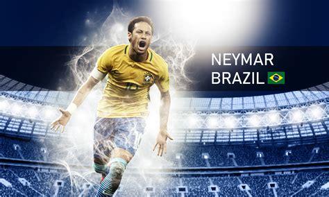 wallpaper neymar brazil  hd sports