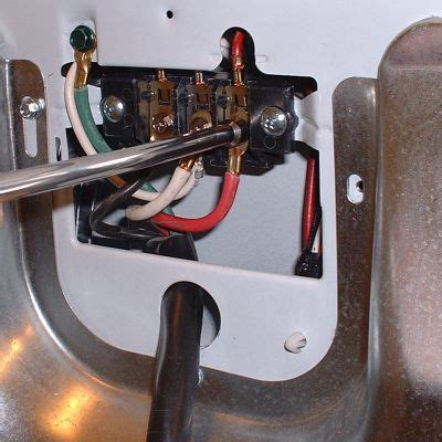 change a 3 prong electric dryer cord to a 4 prong cord