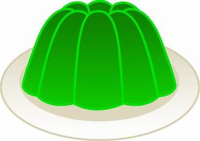 Clipart Gelatin Lime Mold Clip Gelatine Jelly