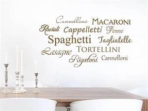 Wandbilder Für Die Küche : selbstklebendes wandtattoo f r die k che in deiner wunschfarbe ~ Markanthonyermac.com Haus und Dekorationen