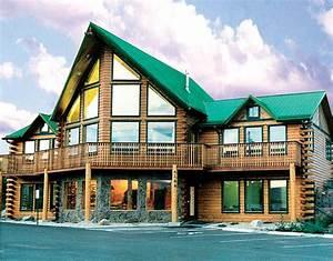 Bald Eagle Log Home Plan By Modern Log Homes