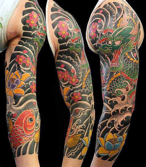 japanese sleeve tattoo  tattoochiefcom japanese