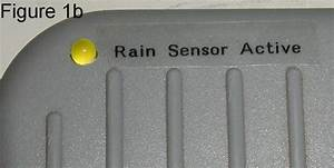 Sprinkler System Rain Sensor Indicator