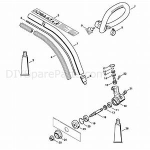 Stihl Fc 56 C Edger  Fc 56 C  Parts Diagram  Drive Tube Assembly