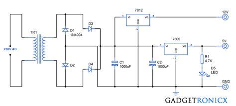 dual power supply circuit gadgetronicx