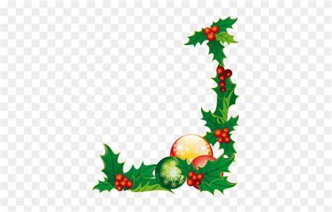 christmas corner floral sticker christmas decoration