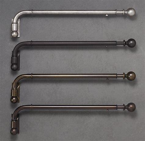 a swing arm curtain rod dakota swing arm rods the swings