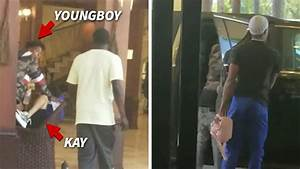 nba youngboy jumps into to help wounded gf after