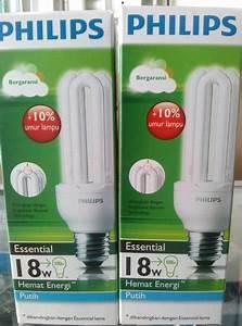 Jual Lampu Philips Ess Essential Jari 18 Watt - 18w - 18 W