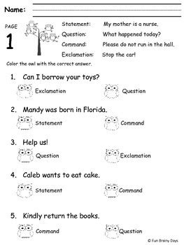 2nd grade ela worksheets year by fun brainy days tpt