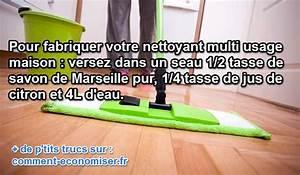 Nettoyant Sol Maison : un nettoyant multi usage fait maison efficace et naturel ~ Farleysfitness.com Idées de Décoration